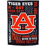 Evergreen Auburn Tigers Fan Rule Garden Flag
