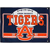Evergreen Auburn Tigers Linen Estate Flag