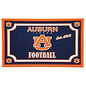 Evergreen Auburn Tigers Embossed Door Mat