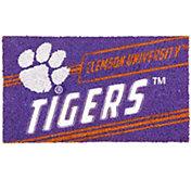 Evergreen Clemson Tigers Coir Punch Mat