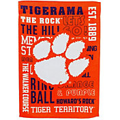 Evergreen Clemson Tigers Fan Rule House Flag