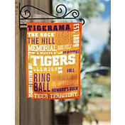 Evergreen Clemson Tigers Fan Rule Garden Flag