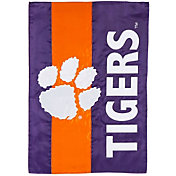 Evergreen Clemson Tigers Embellish Garden Flag