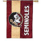 Evergreen Florida State Seminoles Embellish House Flag