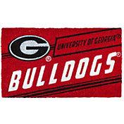 Evergreen Georgia Bulldogs Coir Punch Mat