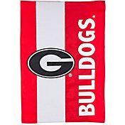 Evergreen Georgia Bulldogs Embellish Garden Flag