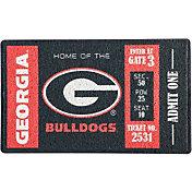 Evergreen Georgia Bulldogs Turf Mat