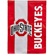 Evergreen Ohio State Buckeyes Embellish Garden Flag