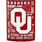 Evergreen Oklahoma Sooners Fan Rule Garden Flag