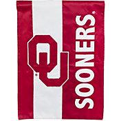 Evergreen Oklahoma Sooners Embellish Garden Flag