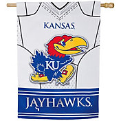 Evergreen Kansas Jayhawks Jersey House Flag