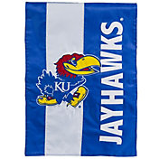 Evergreen Kansas Jayhawks Embellish Garden Flag