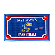 Evergreen Kansas Jayhawks Embossed Door Mat