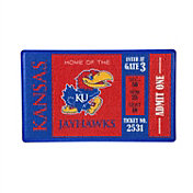 Evergreen Kansas Jayhawks Turf Mat