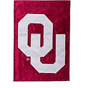 Evergreen Oklahoma Sooners Applique Garden Flag