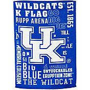 Evergreen Kentucky Wildcats Fan Rule Garden Flag