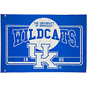 Evergreen Kentucky Wildcats Linen Estate Flag