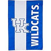Evergreen Kentucky Wildcats Embellish Garden Flag