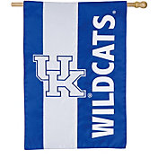 Evergreen Kentucky Wildcats Embellish House Flag