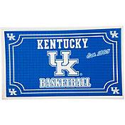 Evergreen Kentucky Wildcats Embossed Door Mat