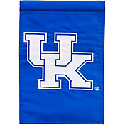 Evergreen Kentucky Wildcats Applique Garden Flag