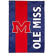 Evergreen Ole Miss Rebels Embellish Garden Flag