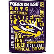 Evergreen LSU Tigers Fan Rule Garden Flag