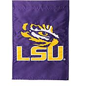 Evergreen LSU Tigers Applique Garden Flag
