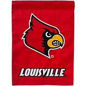 Evergreen Louisville Cardinals Applique Garden Flag