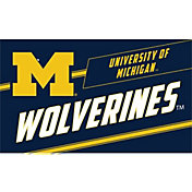 Evergreen Michigan Wolverines Coir Punch Mat
