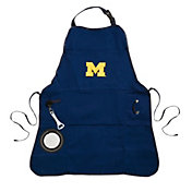 Evergreen Michigan Wolverines Grilling Apron