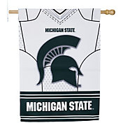 Evergreen Michigan State Spartans Jersey House Flag