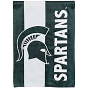 Evergreen Michigan State Spartans Embellish Garden Flag