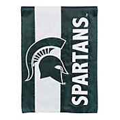 Evergreen Michigan State Spartans Embellish House Flag