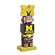 Evergreen Michigan Wolverines Tiki Totem