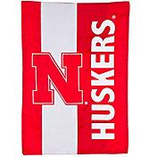 Evergreen Nebraska Cornhuskers Embellish Garden Flag
