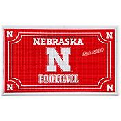 Evergreen Nebraska Cornhuskers Embossed Door Mat