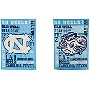 Evergreen North Carolina Tar Heels Fan Rule Garden Flag