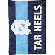 Evergreen North Carolina Tar Heels Embellish Garden Flag