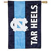 Evergreen North Carolina Tar Heels Embellish House Flag