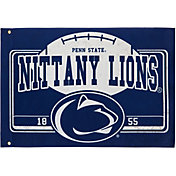 Evergreen Penn State Nittany Lions Linen Estate Flag