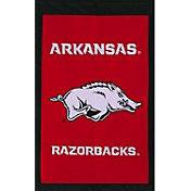 Evergreen Arkansas Razorbacks Applique Garden Flag