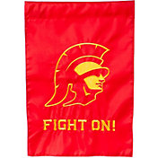 Evergreen USC Trojans Applique Garden Flag