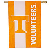 Evergreen Tennessee Volunteers Embellish House Flag