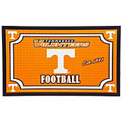 Evergreen Tennessee Volunteers Embossed Door Mat