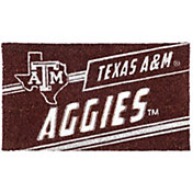 Evergreen Texas A&M Aggies Coir Punch Mat