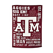 Evergreen Texas A&M Aggies Fan Rule House Flag