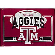 Evergreen Texas A&M Aggies Linen Estate Flag