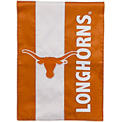 Evergreen Texas Longhorns Embellish Garden Flag