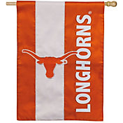 Evergreen Texas Longhorns Embellish House Flag